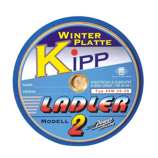 """LADLER Modell 2 Kippplatte """"Kipp"""" - Eisstock / Winterlaufsohle"""