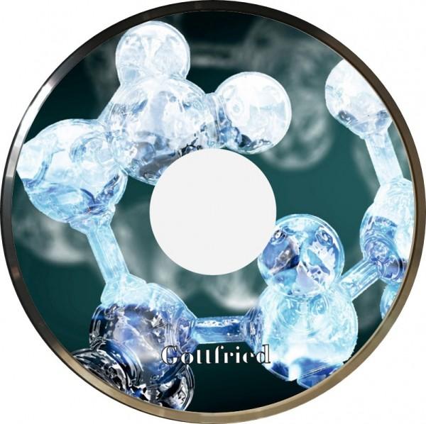 eisstock24 Gottfried Stockkoerper Eisstock EVO 1 Design Molekuele
