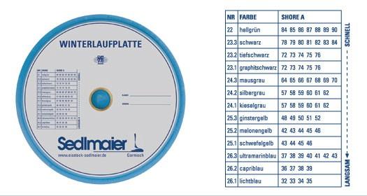 Sedlmaier Sinterlaufsohle Balance - Schützenplatte