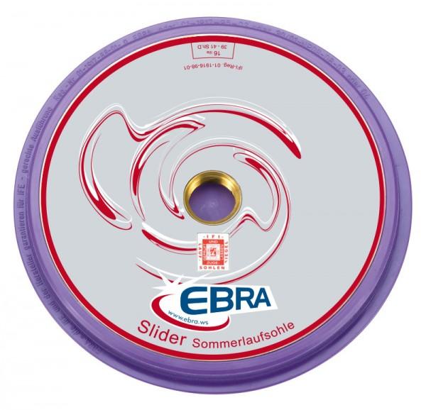 EBRA Slider glatt (ohne Rillen) Typ 16 Sommerlaufsohle
