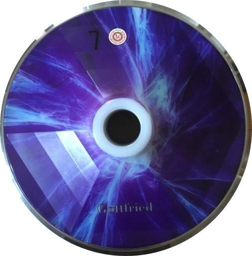 eisstock24 Gottfried Stockkoerper Eisstock EVO 1 Licht Blau