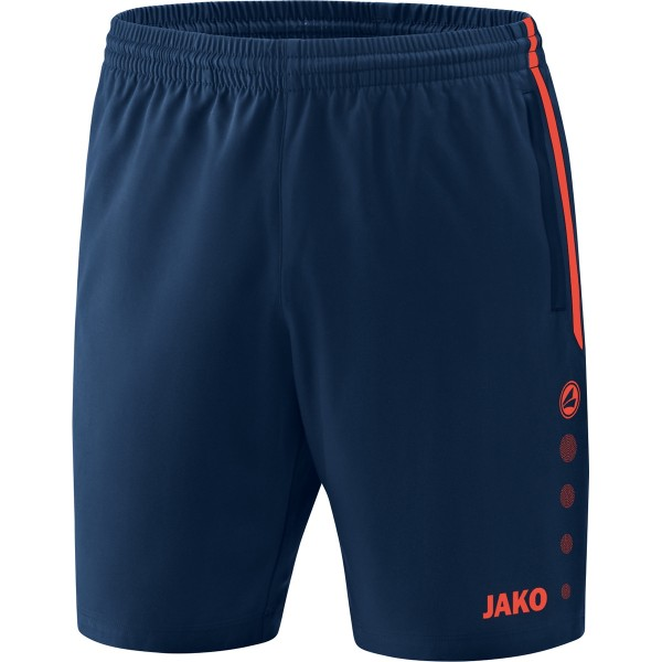 eisstock24 JAKO Short Competition 2.0 Navy Flame