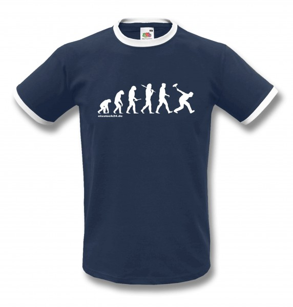Evolution Stocksport - eisstock24 T-Shirt vorne