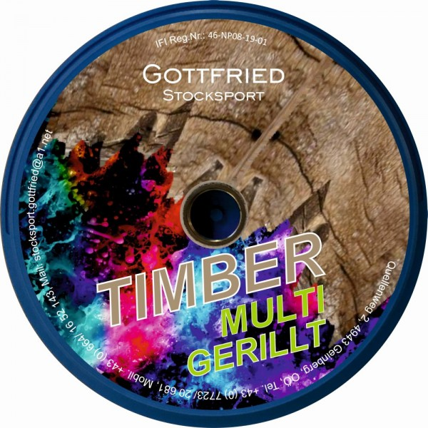 eisstock24 GOTTFRIED Timber Multi gerillt - Eisstock / Sommerlaufsohle