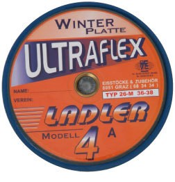 eisstock24 LADLER Modell 4 - Ultraflex orange