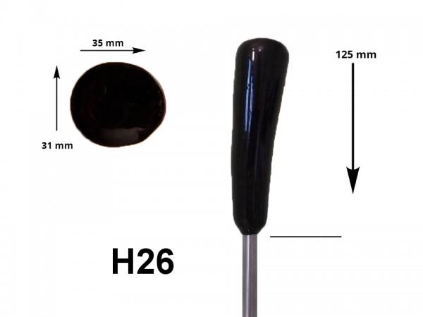 eisstock24 HAIN-Eisstockstiel Griffstück Griffnummer H26