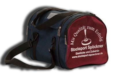 eisstock24 SPÖCKNER kleine Eisstocktasche mit Holzeinsatz