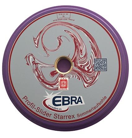 eisstock24 EBRA Profil-Slider Starrex 16 - Sommerlaufsohle
