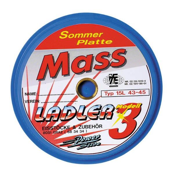 LADLER Spezial-Massplatte Modell 3 / Mass 3