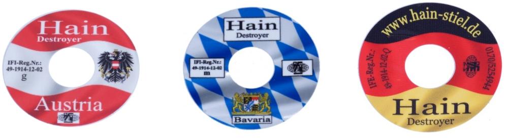Hain Stiel Destroyer Kappe Austria/Bayern/Deutschland