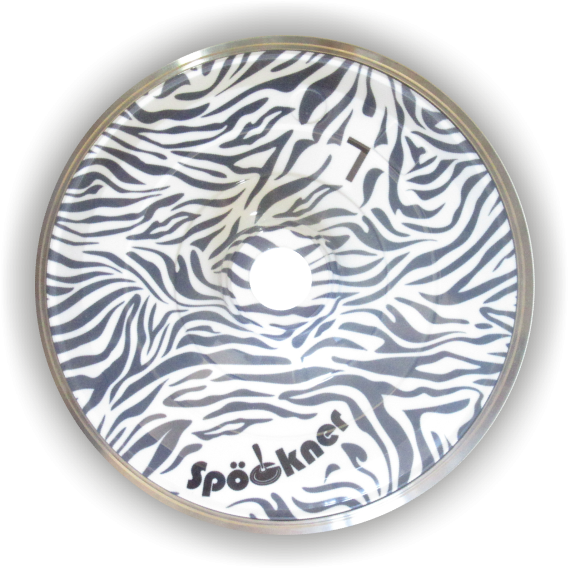 eisstock24 Spöckner Safari (grau) Eisstock Stockkörper
