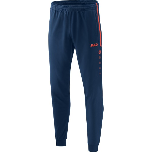 eisstock24 JAKO Polyesterhose Competition 2.0 Navy Flame