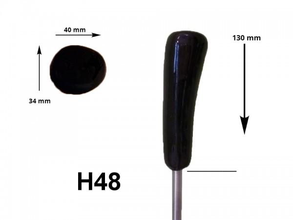 eisstock24 HAIN-Eisstockstiel Griffstück Griffnummer H48