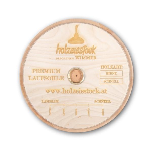 eisstock24 WIMMER Eisstock Winterplatte Wechselplatte Wechsellaufsohle aus Holz