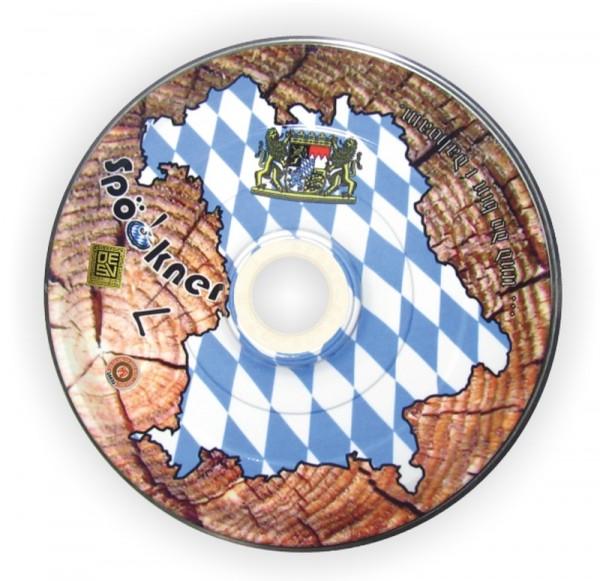 Eisstock24 Spoeckner Stockkörper Heimat Bayern Stirnholz