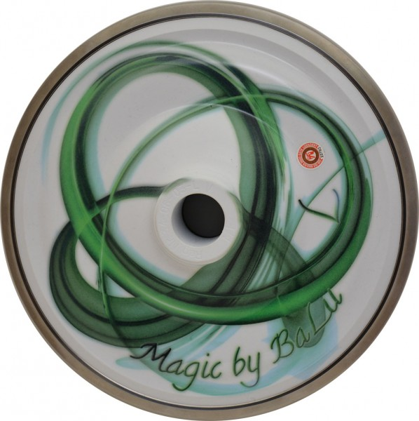 eisstock24 BaLu Eisstock Stockkörper Magic Spirit Oscillate Green Gruen