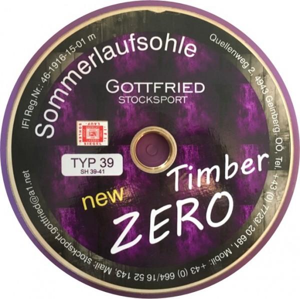 eisstock24 Gottfried Timber Zero glatt Typ 16 Somerlaufsohle