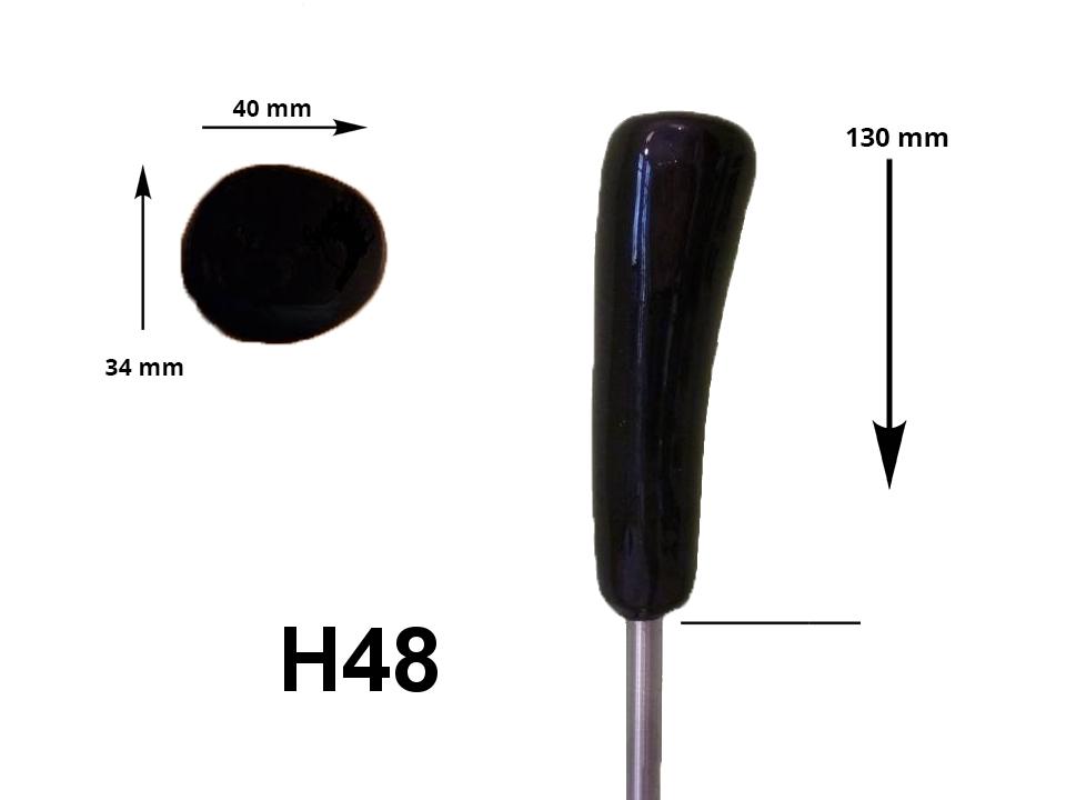 HAIN-Eisstockstiel H48