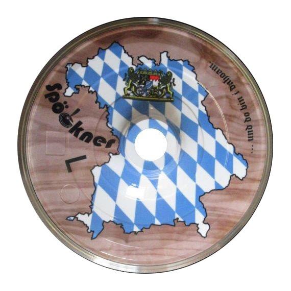 Eisstock24 Spoeckner Stockkörper Heimat Bayern Olive