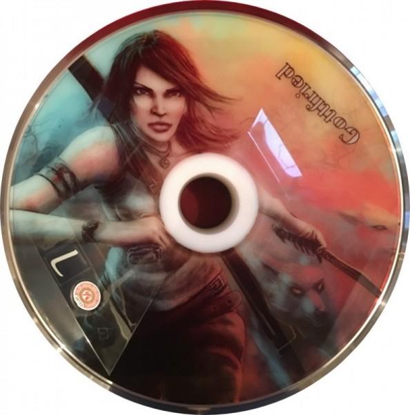 eisstock24 Gottfried Stockkoerper Eisstock EVO 1 Tomb Raider