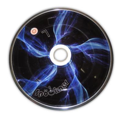 eisstock24 Spöckner Plasma (blau) Eisstock Stockkörper