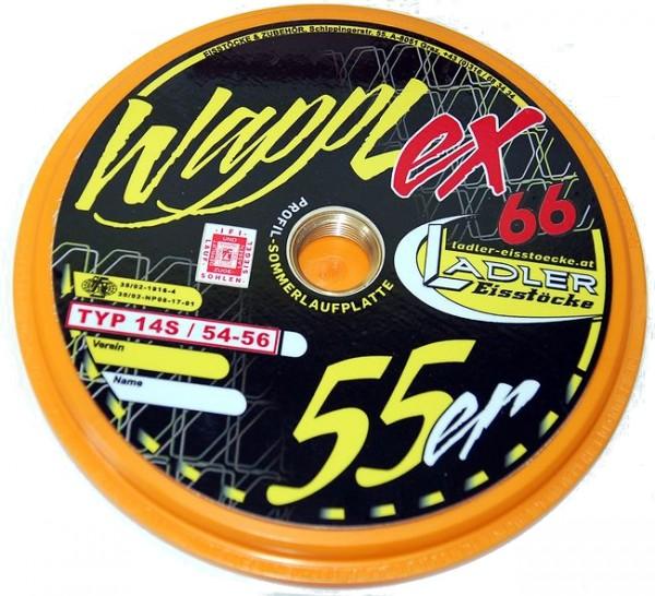 LADLER Profilplatte WAPPLEX 5566 - Eisstock / Sommerlaufsohle