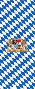 eisstock24 Bayern-Fahne 120x300