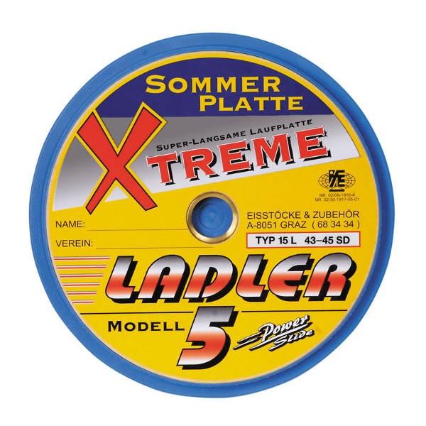 eisstock24 LADLER Sommerlaufplatte Modell 5 XTREME