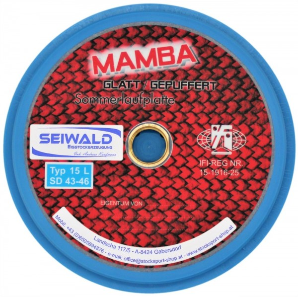 eisstock24 Seiwald Mamba glatt Somerlaufsohle