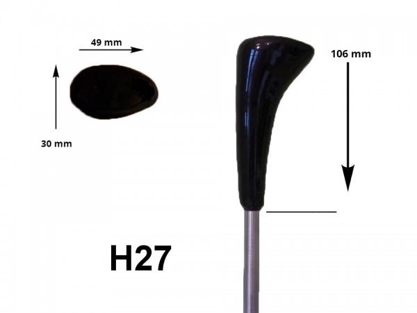 eisstock24 HAIN-Eisstockstiel Griffstück Griffnummer H27