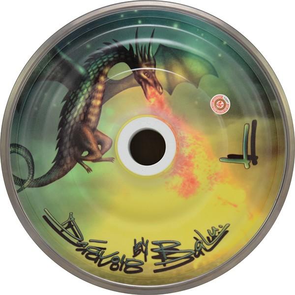 eisstock24 BaLu FLYING DRAGON Eisstock Stockkörper Magic