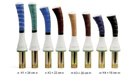 Sedlmaier Kunststoff-Stiel - Eisstock / Stiel