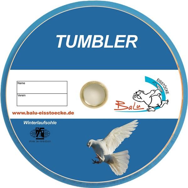 eisstock24 BaLu Tumbler - Eisstock / Winterlaufsohle / Winterplatte / Stockschussplatte