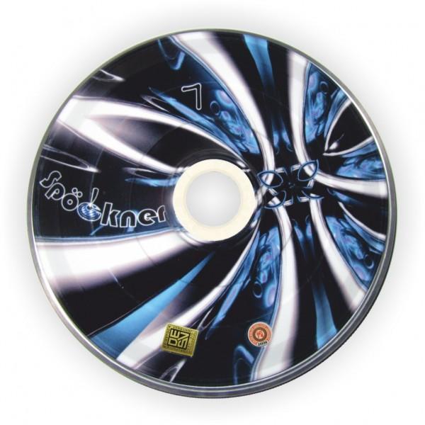 eisstock24 Spöckner Libelle blau schwarz Eisstock Stockkörper