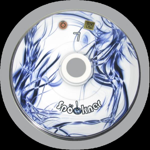 eisstock24 Spöckner Tintenfisch Blau Weiss Eisstock Stockkörper