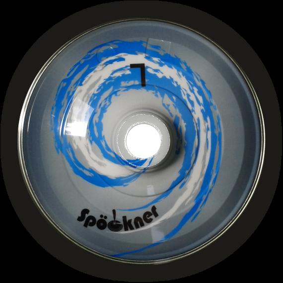 Eisstock24 Spoeckner Stockkörper Blauer Wirbel
