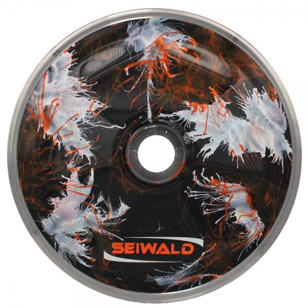 eisstock24 SEIWALD Explosion Orange Eisstock Stockkörper