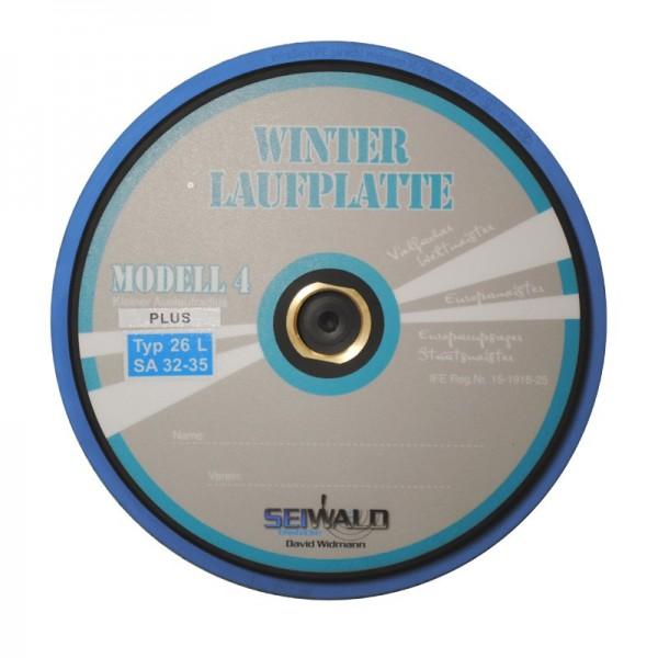Seiwald Winterlaufplatte Modell 4 Plus - Mass-Platte