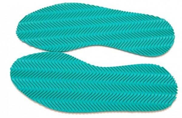 eisstock24 grüne Ersatzsohle LADLER Thermoking Eisschuetzenschuhe LACH / LADLER