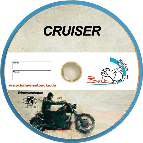 eisstock24 BaLu Cruiser - Eisstock / Winterlaufsohle / Winterplatte / Massplatte