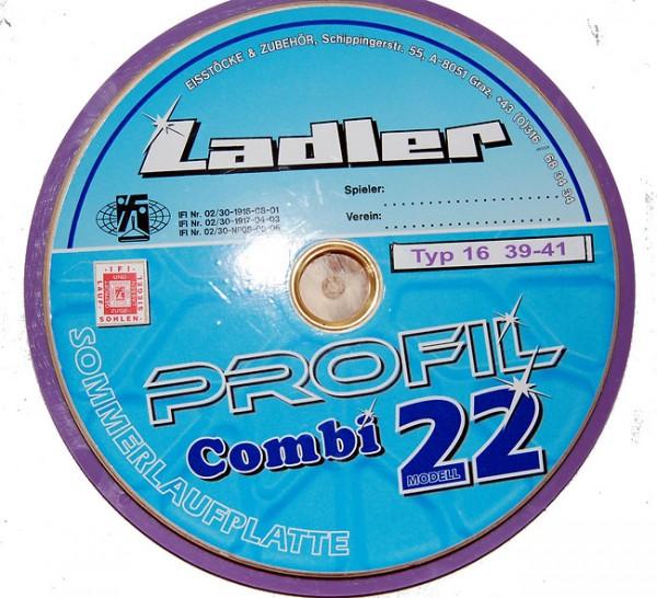 LADLER Profilplatte violett / lila Typ 16 Modell 22
