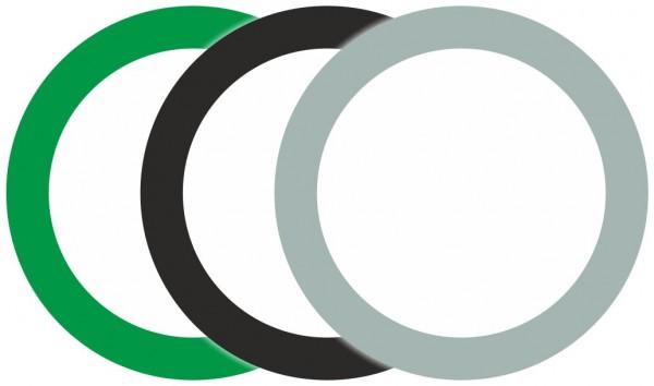 Seiwald Mamba Typ 10 weiß grün grau schwarz