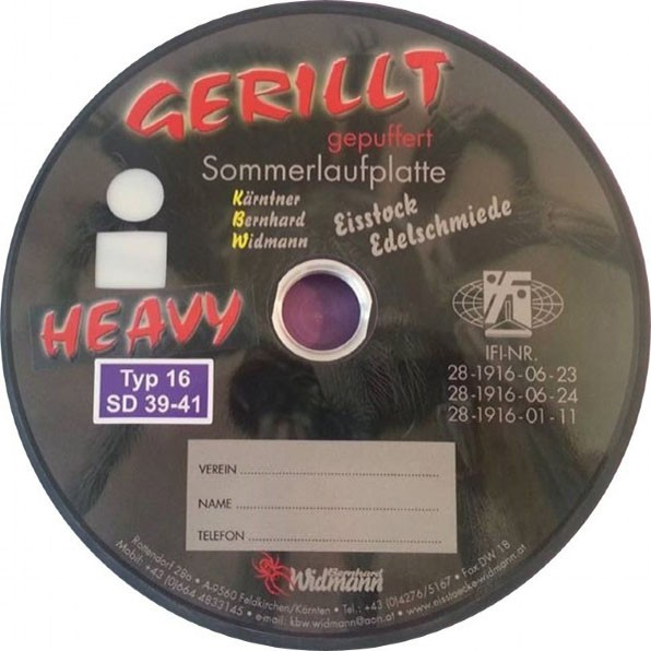 eisstock24 GOTTFRIED Gerillt gepuffert heavy