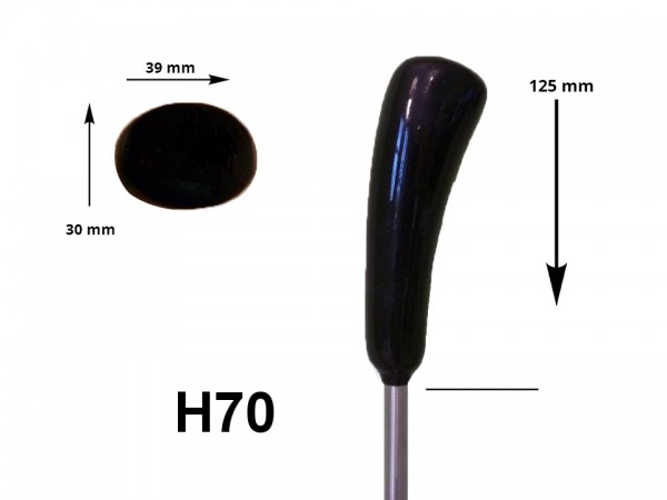 eisstock24 HAIN-Eisstockstiel Griffstück Griffnummer H70