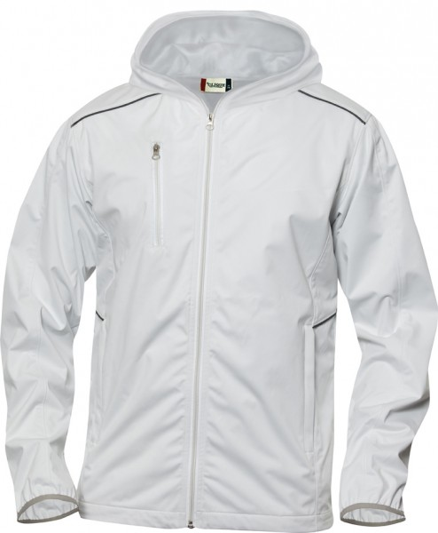 MONROE LADIES Damen Softshell-Jacke - stone white / eisstock24