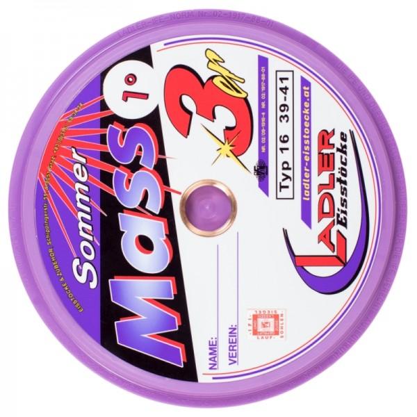 LADLER Glatte Sommerplatte Modell Mass 3 violett / lila Typ 16 Modell 3