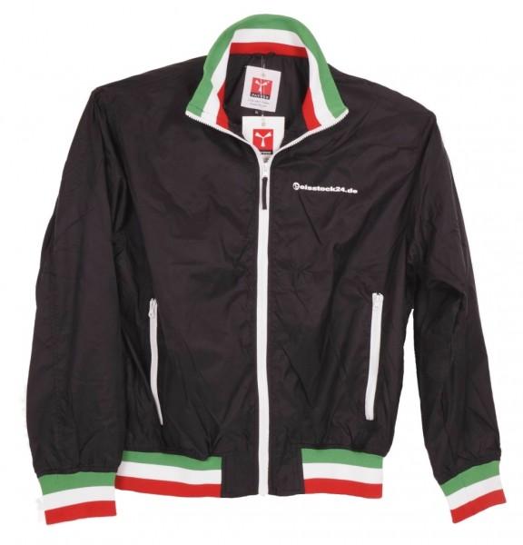 eisstock24 Fan-Jacke Italien / Italy United vorne