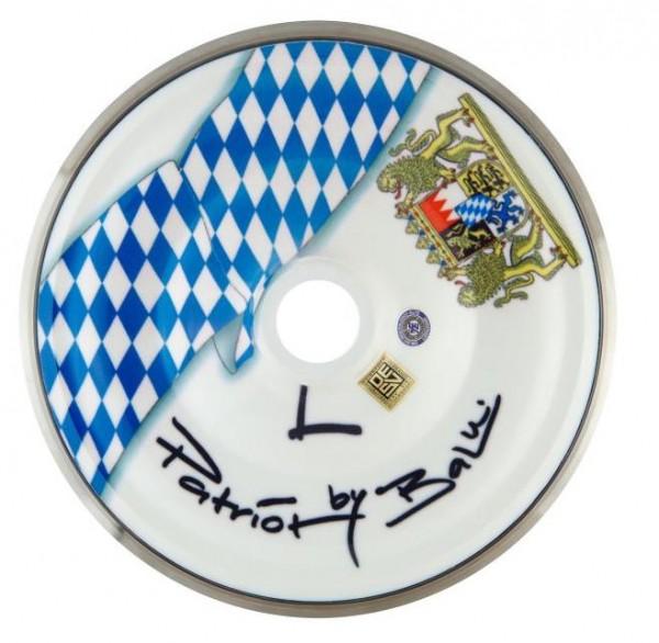 eisstock24 BaLu Eisstock Stockkörper Patriot Bayern