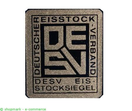 DESV-Eisstocksiegel für EBRA Stöcke