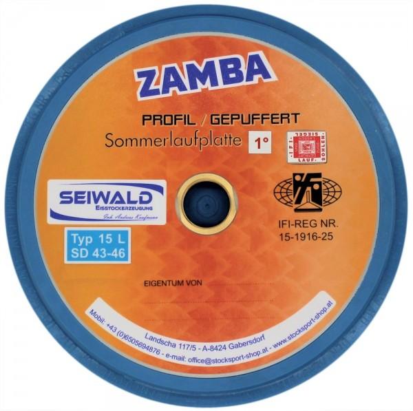 eisstock24 Seiwald ZAMBA abgedrehte strenge Somerlaufsohle